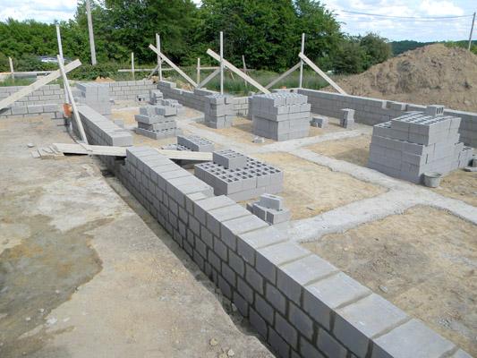Construction de votre maison neuve traditionnelle for Prix construction garage sous sol